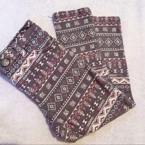 Holiday jean leggings